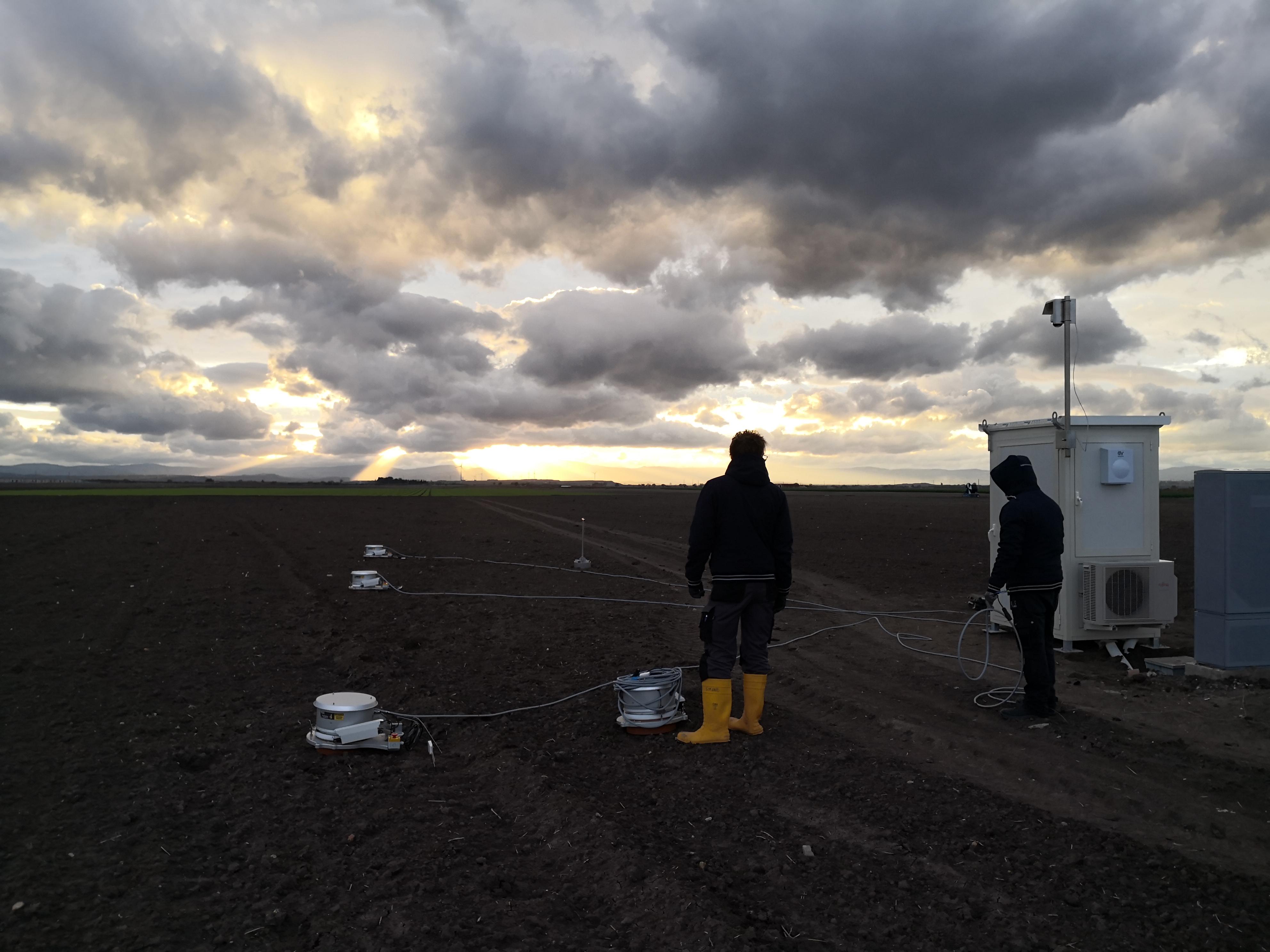 Installazione e collaudo del prototipo per la misurazione dei GHG nel sito dimostrativo di Foggia a novembre 2019